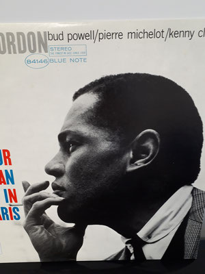 4146  DEXTER GORDON our man in paris
