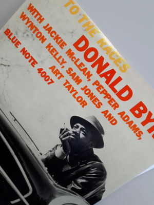 Off to the races / Donald Byrd