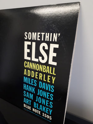 "1595 JULIAN ""CANNONBALL"" ADDERLEY  somethin' else"
