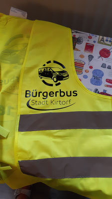 Für unsere Bürgerbusfahrer