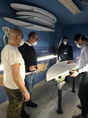 Création planche de surf