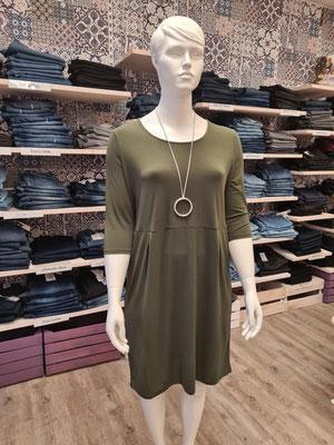 103. Kleid Only Carmakoma 20,00€ statt 39,99€ in khaki Gr.S 42/44,M46/48, L50/52 ,XL (54) und schwarz S,M,L , XL (54)