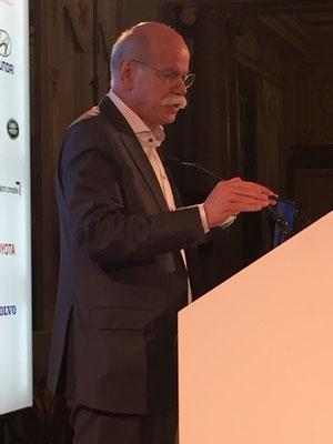 ACEA President Dieter Zetsche