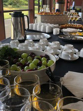 Pause café entreprise fruits frais