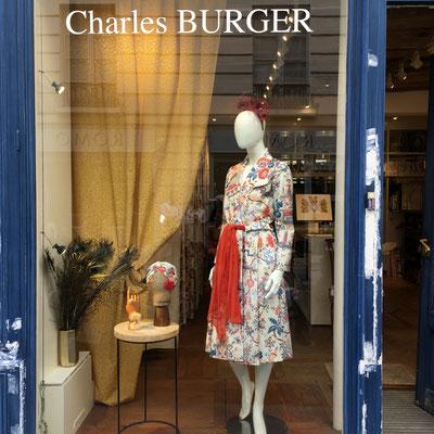 La vitrine de Charles Burger
