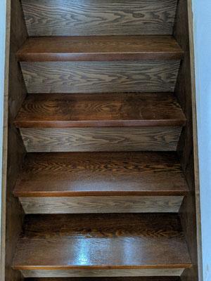 階段再塗装
