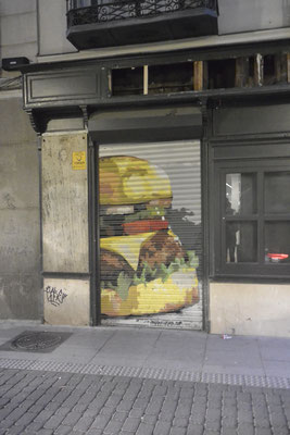 Strassenkunst in Madrid
