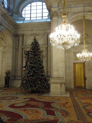 Palacio Real, Madrid, Saal, in dem u.a. Juan Carlos seine Abdankung unterzeichnet hat