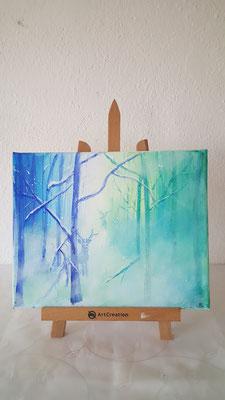 Acryl auf Leinwand 24×30 CHF 180.-