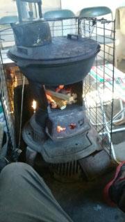 これはマーボーのストーブです。