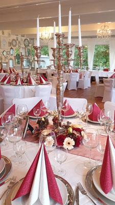 Die perfekte Location für Hochzeitsfeiern
