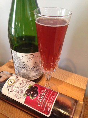 Cider Kir Royale