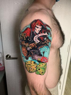 jester el bardo tattoo