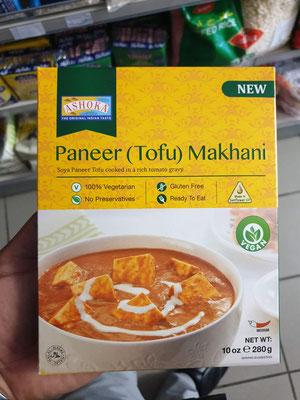 Paneer (Tofu) Makhani