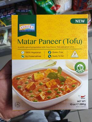 Matar Paneer (Tofu)