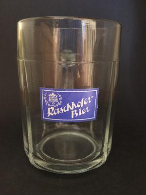 OE107, Brauerei Raschhofer, Altheim,  Bezirk Braunau, OÖ  (Glas von ca. 1960)