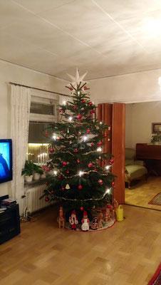 Weihnachtsdekoration im Josephinahemmet