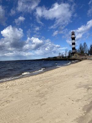 Auch eine Auszeit am Strand ist in Lettland kein Problem.