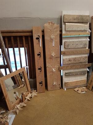 Treibholz Garderoben und Hakenleisten