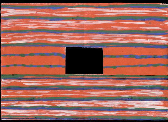 Reproducción del huipil: trazado de lineas verticales con pincel  actividad 1