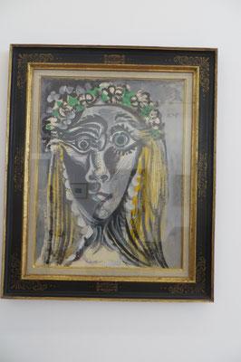 Picasso Diane Voilée 1969