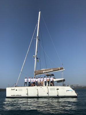 Kos Rhodos Yacht mit Skipper