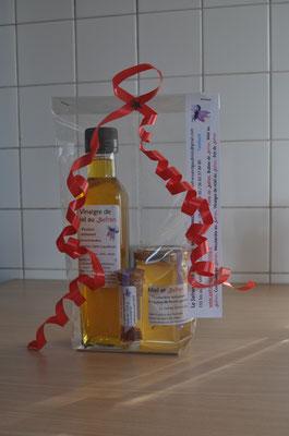 vinaigre, safran et miel Safran Saint-Gaudinois