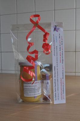 Safran et moutarde Safran Saint-Gaudinois