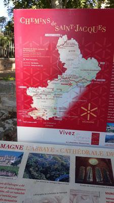Babeth du 47: J'ai une belle photo d'un sol en mosaïque, suite à une visite de l'Abbaye de Valmagne en Languedoc Roussillon