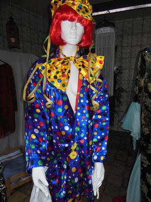 Clownskostüm Heeren Gr. L   60,00€