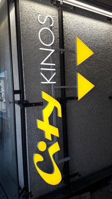 LED Buchstaben 30mm München City Kino
