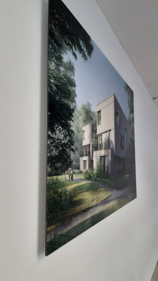 Wandbild Druck hinter 2mm Acrylglas
