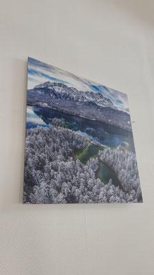 Wandbild ultra hd Alpen Winter