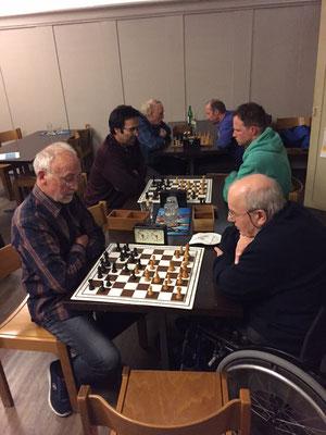 Schachabend, Josef, Romolo, Gustavo, Gregory, Toni, Arthur (volnur)