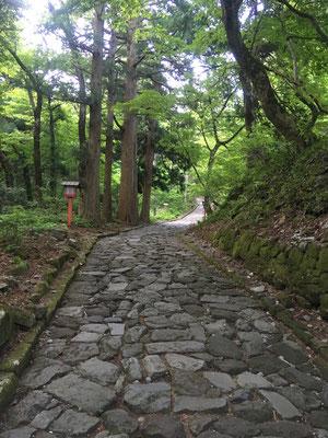 大神山神社奥宮への参道