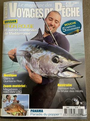 Magazine Voyages de Peche Juin & Juillet 2021