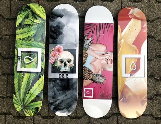 Drip Skateboards Winter/Spring 2020 Decks