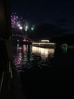 Donau im Feuerzauber (Passau) 2017