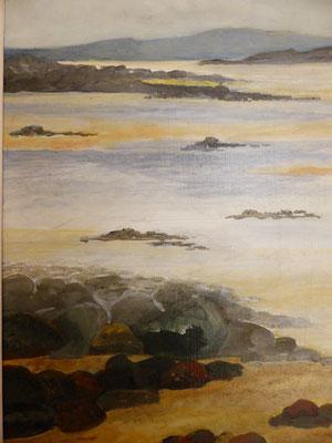 Marée basse en Bretagne 1   23x32