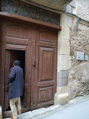 Das Tor zum Hause Climent wird geöffnet
