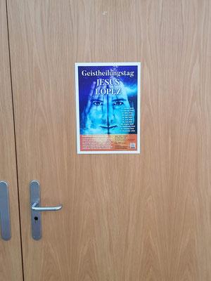 Eingang zur Veranstaltung Kristallklangschalenkonzert mit Meditation und der Spirituellen-Wach-Trance und Geistheilung