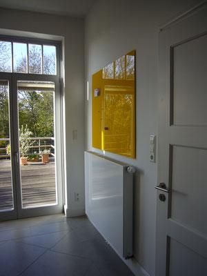 Glasmagnettafel Leuchtendes Gelb (REF 1023)