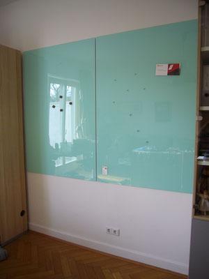 2 Glasmagnettafeln Pastellgrün (REF 1604)