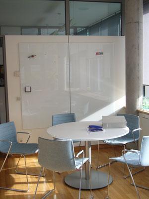 2 Glasmagnettafeln Leuchtendes Weiß (REF 9003)