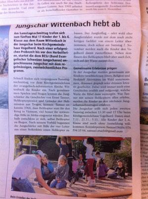 St.Galler Nachrichten Okt. 2015