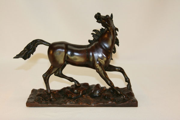 Cheval-bronze patiné-300€