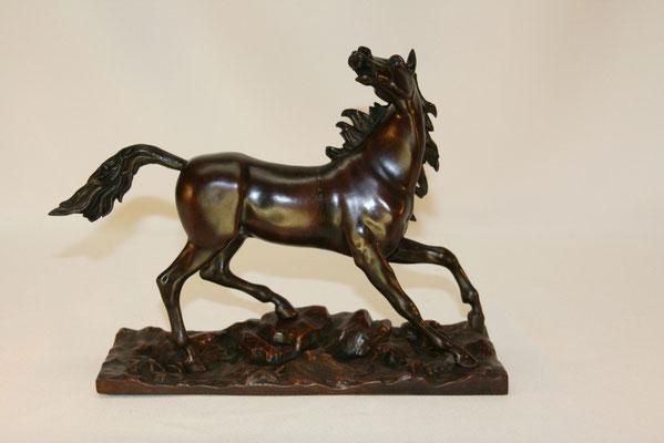 Cheval-bronze patiné-200€