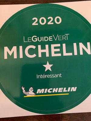 Guide vert Michelin 2020