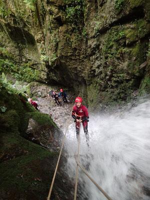 Canyon de Caussiste, près de Lourdes (Hautes-Pyrénées)