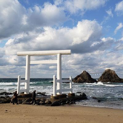 糸島 二見ヶ浦 夫婦岩